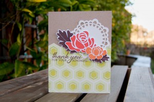 """Thank You"" Card for Favorites Challenge"