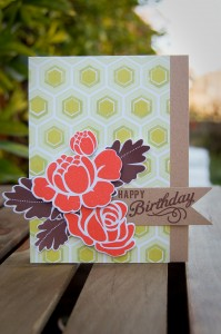 """Happy Birthday"" Card for Favorites Challenge"