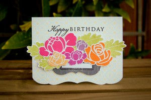 """""""Happy Birthday"""" Card for Favorites Challenge"""