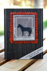 Saddle Up Again Card