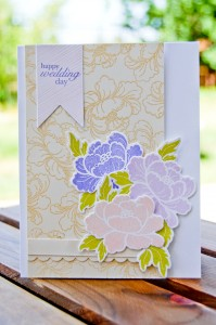Happy Wedding Day Card for PTI May 2013 Blog Hop