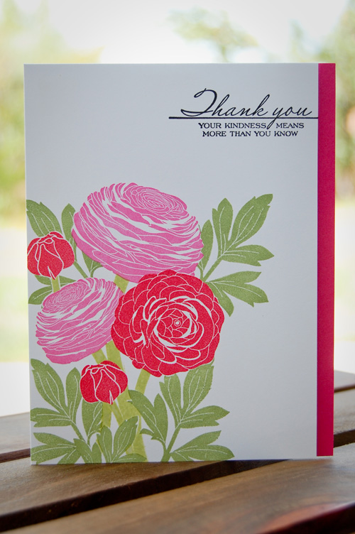 Kindness Thank You Card